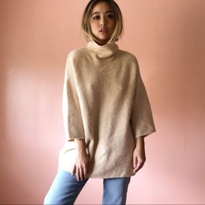 Zara Oatmeal Oversized Sweater
